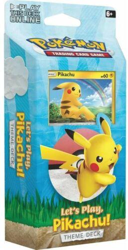 Pikachu Theme Deck Pokemon Let/'s Play