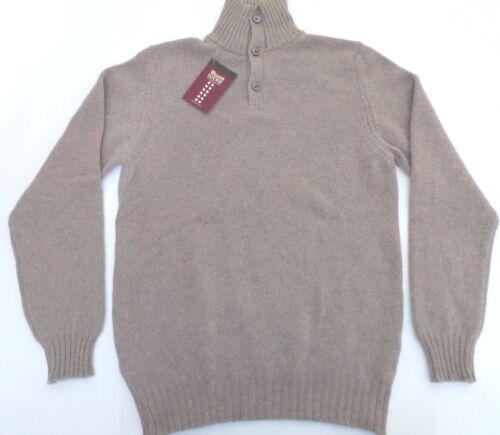 2 lambswool Top Lockie Lambswool William 2 Neck Top Ply Button High Ply 40 Felpa William Button High Lockie Neck 40 Sweater Jumper Jumper 0Axp4Iq
