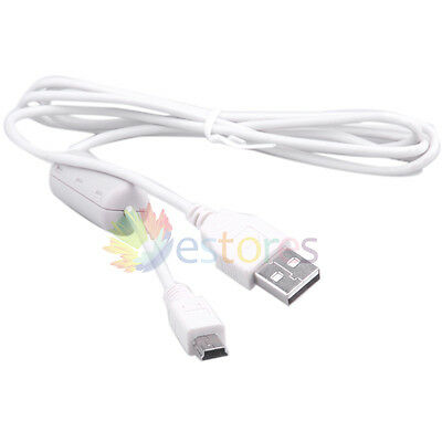 USB 2.0 Data Sync Cable 5P for Canon PowerShot D30 SX700 HS SX600 S120 SX170 IS