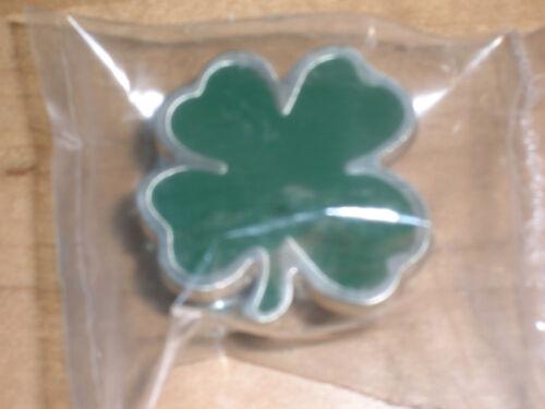 Longaberger St Patricks Day Shamrock Knob