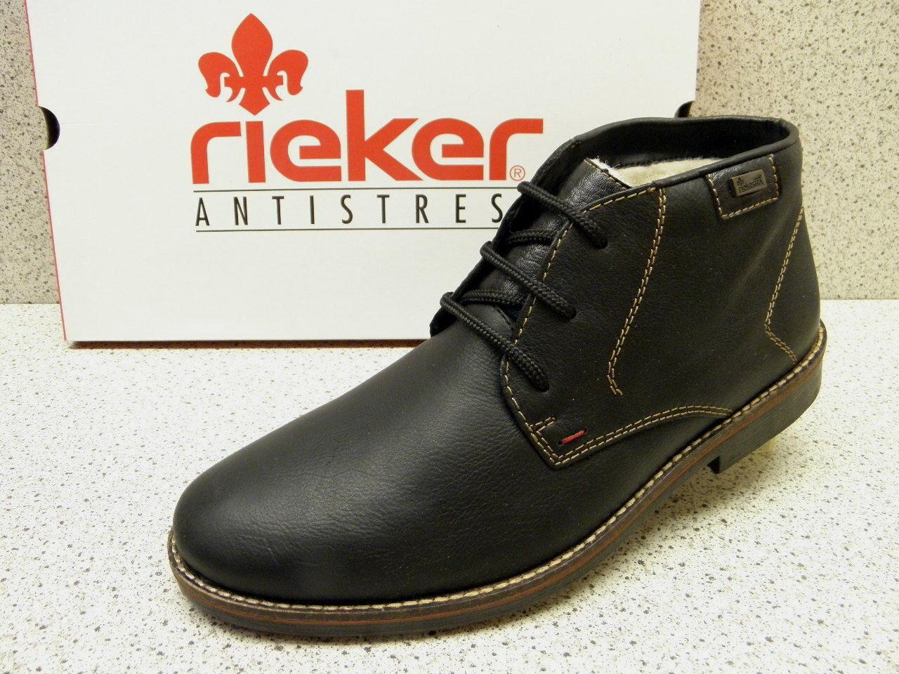 Rieker ® rojouce, hasta ahora  negro, + gratis premium-calcetines (r310)