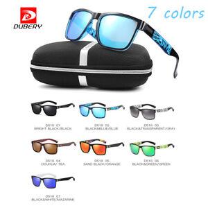 DUBERY-Hombre-Mujer-Polarizadas-Gafas-de-sol-UV400-Conduccion-Ciclismo-Gafas