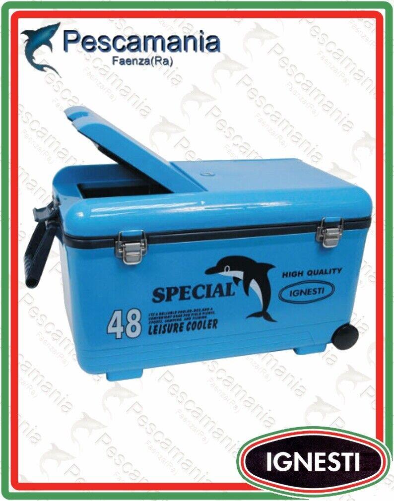 Frigo portatile Ignesti da 48 litri ghiacciaia contenitore termico