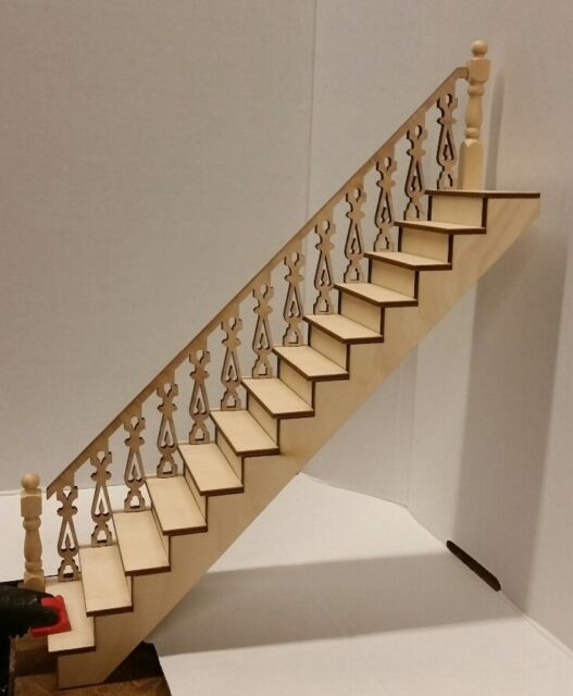Cyprus 1:24 Victorian Straight Staircase