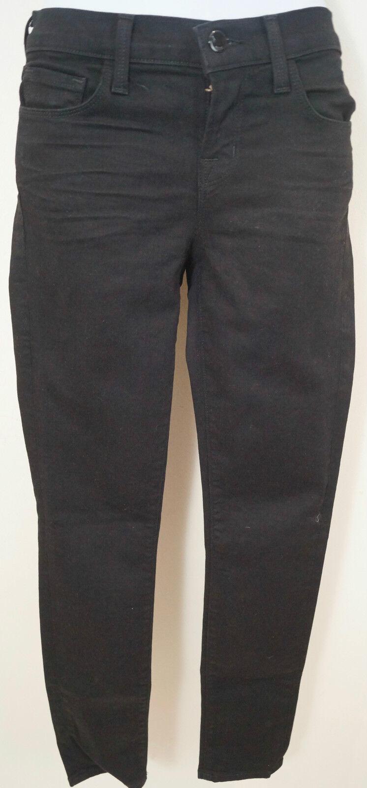 J Brand Brand Brand da donna nero Thunderhead Misto Cotone Pantaloni Pants Jeans Sz24 IL27.5  a428ee