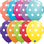 6-x-11-034-Printed-Qualatex-Latex-Balloons-Assorted-Colours-Children-Birthday-Party thumbnail 76
