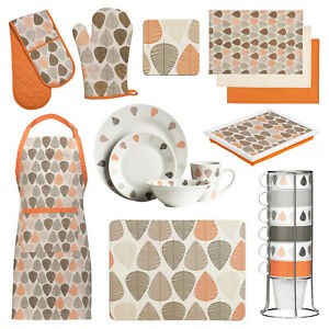 Kitchen Accessories Orange Leaf Oven Gloves Mitts Dinner Table Mats Coasters Set Ebay,Spa Website Inspiration
