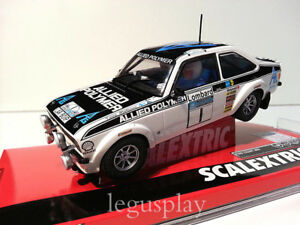 Slot-SCX-Scalextric-A10222S300-Ford-Escort-MKII-Rally-Lombard-034-Makinen-Liddon-034