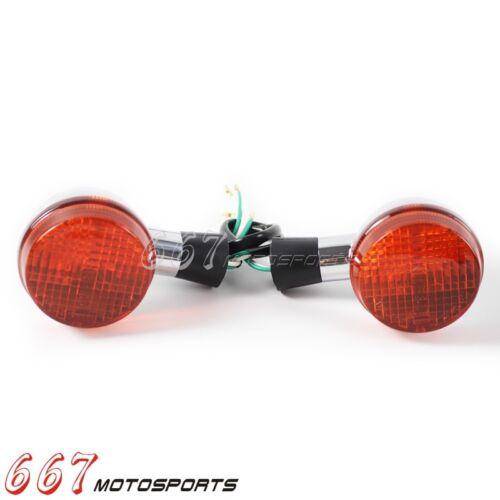 2x Rear Turn Signal Light Indicator Lamp For 04-07 Honda Shadow 400 750 VT750