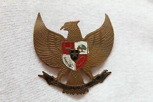 Clip Pin Emblem National Indonesia, Shield Of Arms, Garuda. C.1950s