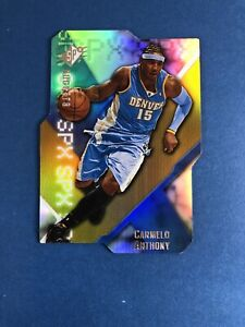 2008-09-UPPER-DECK-SPX-BASBETBALL-CARMELO-ANTHONY-DIE-CUT-RADIANCE-SP-Noles2148