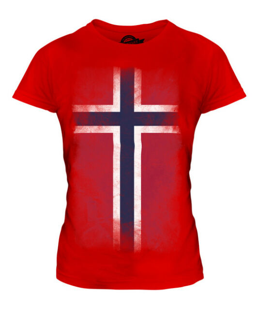 Norway Flag Crest Norwegian Norge National Country Pride Boy Beater Tank Top
