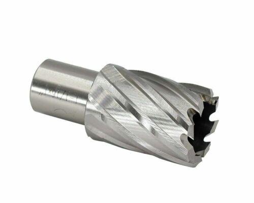"""6pc Set Annular Cutter 3//4/"""" Weldon Shank 9//16 1-1//16 Magnetic Drill Bit"""