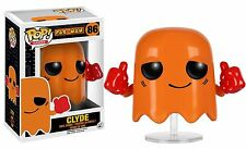 Funko Pac-Man POP Clyde Vinyl Figure NEW Toys Video Game Collectibles