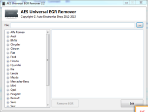 Aes Universal Egr Remover V2.2 English Software
