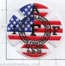 New York - 9-11-01 WTC IAFF 9-11 343 NY Fire Patch v2