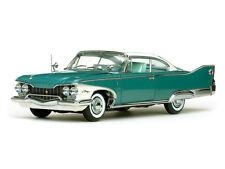 1960 Plymouth Fury Turquoise Metallic Hardtop 1:18 SunStar 5421