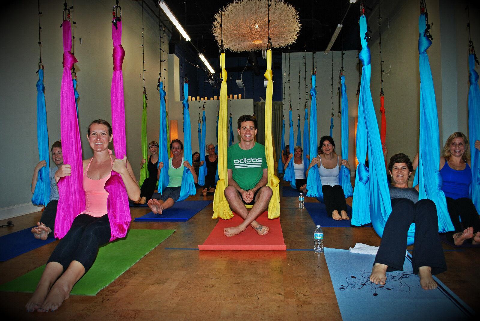Deluxe Flying Yoga Hamaca Para Antena Yoga, AntiGravity, unnata, de inversión de diversión
