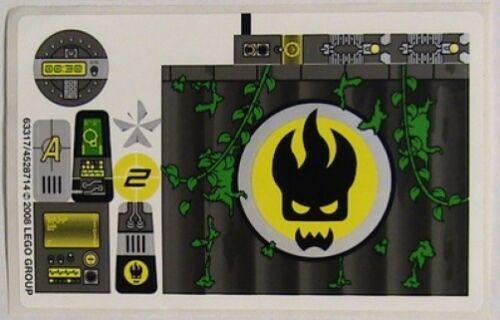 Swamp Raid STICKER SHEET AGENTS LEGO 8632