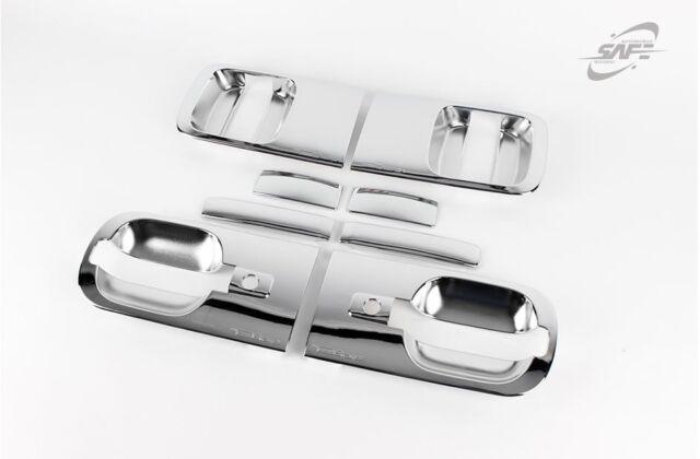 Chrome Door Handle Catch Molding Trim Cover 2 Keyhole for 07 H-1 ...