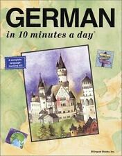 German in 10 Minutes a Day by Kristine K. Kershul