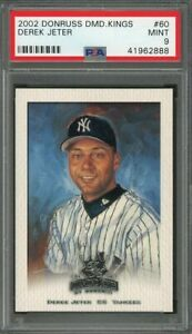2002-donruss-diamond-kings-60-DEREK-JETER-new-york-yankees-PSA-9