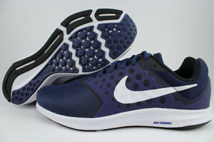 NIKE DOWNSHIFTER 7 EXTRA WIDE 4E EEEE NAVY BLUE/WHITE/BLACK RUNNING US MEN SIZES