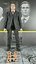 Genuine Hot Toys 1/6 Dark Knight Batman Armory MMS236 Bruce Wayne Action Figure