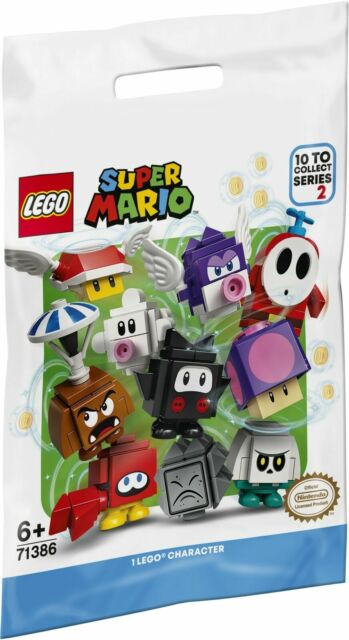 LEGO 71386 - 1x Bustina / Character Pack SERIE Super Mario 2 - SEALED PACKETS