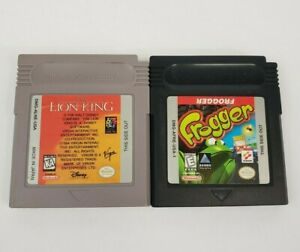 Frogger & The Lion King (Nintendo GameBoy) Tested