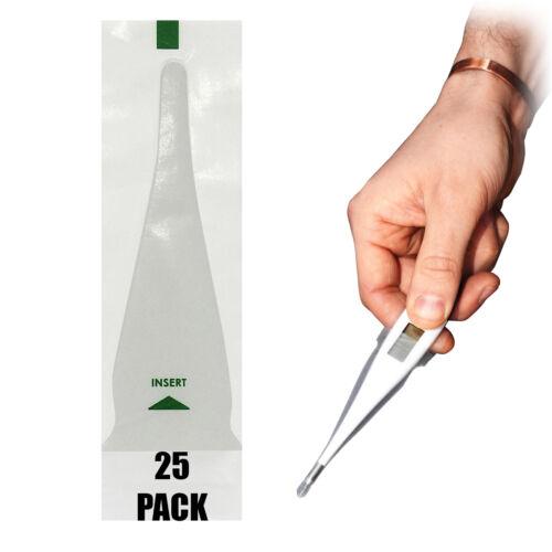 Alvita Digital Single Use Replacement Mini Probe Thermometer Slip On Covers