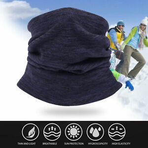 Cooling Neck Gaiters For Men Summer Women Bandanas With Ear Loops Face Covering Balaclava Gaiter 03Red