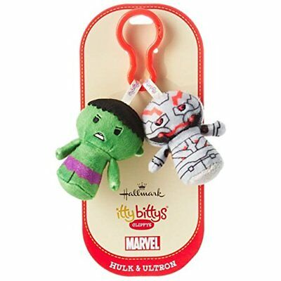 Hallmark Hulk & Ultron Itty Bitty Clippy Set | eBay