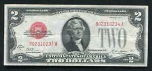 1928-G $2 Legal Tender Note Very Fine FR# 1508