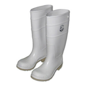 Joy fish commercial boots white men size 10 women size for White fishing boots