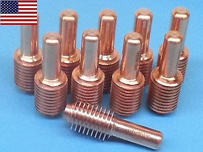 212724 Plasma Electrodes Fit For Miller ICE-60T 80T Plasma Cutting Torches 5pk