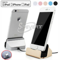 Desktop Sync Charger Dock Stand Station for iPhone 5 5s 5c 6 6s Plus SE PAD iPod