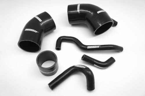 Autobahn88 Silicone Air Intake Hose Fit Toyota Celica GT-Four ST185 RC BLACK