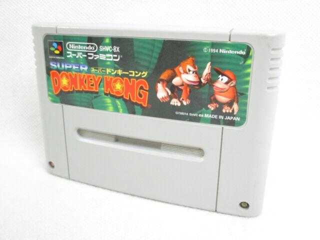 Super Famicom Super Donkey Kong Country Nintendo Solo Cartucho Sfc