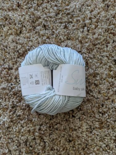 Sublime Baby Silk and Bamboo DK Blue