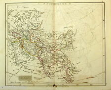 Original Antique Map of the Ancient World -  ASIA -   J  ARROWSMITH  - 1842.
