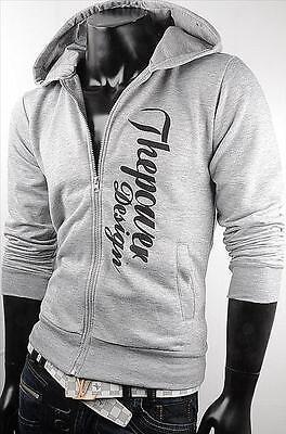 Japan Style Kapuzen Pullover Jogging Jacke Sweatjacke Hoodie Sweatshirt Zipper