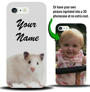 Personalised Hamster Phone Case Cover Hamsters Pet Pets Customised Gift X480 Ebay