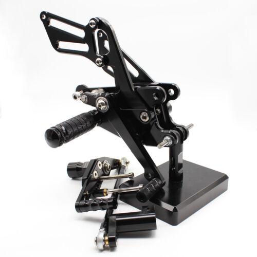 For Honda CBR1000RR ABS 2008-2016 CNC Adjustable Footpeg Rearsets Footrest Pedal