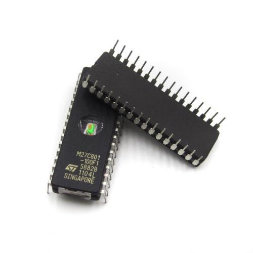 25pcs M27C801-100F1 27C801 ST IC EPROM UV