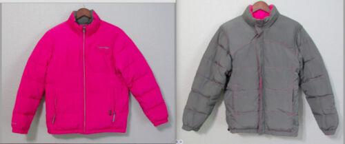 Grey Størrelse Puffer Klein S Pink Winter Calvin Frakke Reversible Jacket Small IwfEqnI86