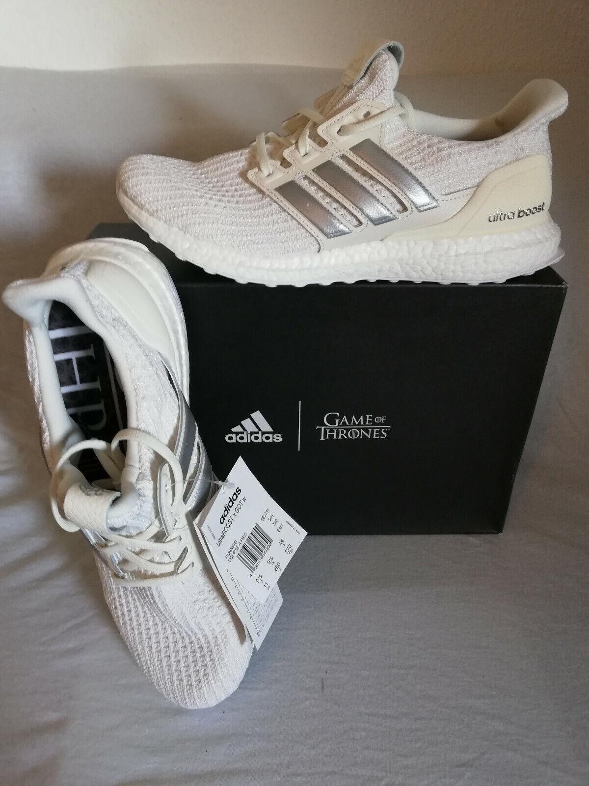 Adidas Ultra Boost x GOT w, EUR 44 US 11, Weiß Silber Beige, EE3711