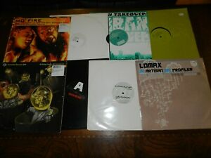 Lot-wholesale-Collection-of-8-x-Drum-amp-bass-12-034-Records-DJ-LOT-USED-VG-to-VG