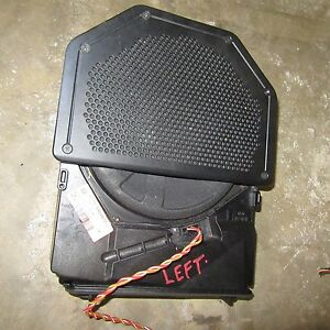 BMW 65136954877 E90 E92 E93 WOOFER SPEAKER BASS LEFT OEM 330XI 330I 325I 328I