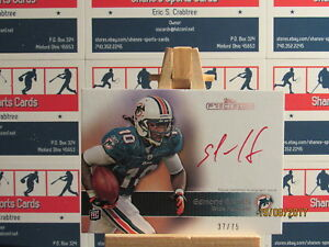 2011 Topps Precision Rookie Autographs Red Ink #128 Edmond Gates SN 37/75
